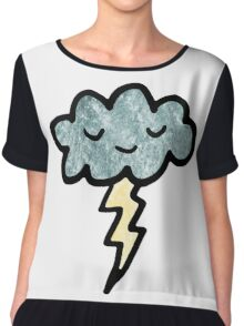 Thunder cloud Women's Chiffon Top