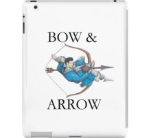 Jiu Jitsu Bow & Arrow iPad Case/Skin