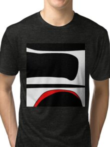 Red, white and black  Tri-blend T-Shirt