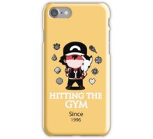 Hitting The Gym iPhone Case/Skin