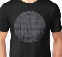 Buenos Aires city map engraving Unisex T-Shirt
