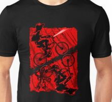 stranger with bike Unisex T-Shirt