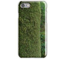 Textured woodland iPhone Case/Skin