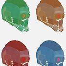 Star Lord Helmet by Jessica Becker