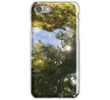 green light reflections iPhone Case/Skin
