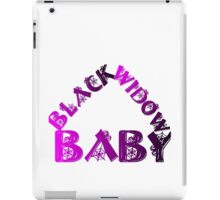 BLACK WIDOW BABY iPad Case/Skin