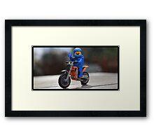 Biker Benny Framed Print