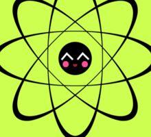 Think like a proton - GREEN Sticker