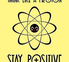 Think like a proton - YELLOW by garigots