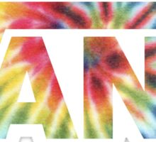 Vans Rainbow Tie Dye Sticker
