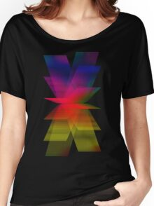 Abstract Retro Pop Women's Relaxed Fit T-Shirt