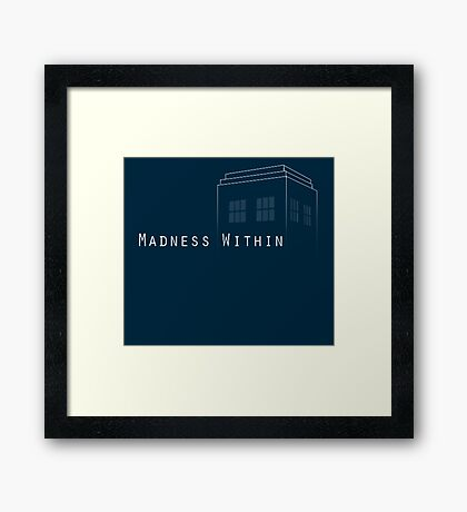 Madness Within Framed Print