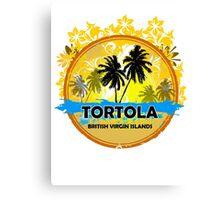 Happy Time In Tortola Canvas Print