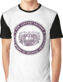 NCE logo purple Graphic T-Shirt