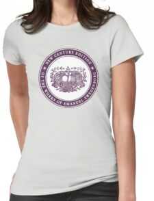 NCE logo purple Womens Fitted T-Shirt