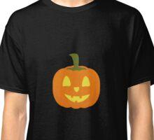 Classic light Halloween Pumpkin Classic T-Shirt