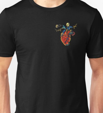 SHOCKING! The Electric Heart - REVISITED Unisex T-Shirt