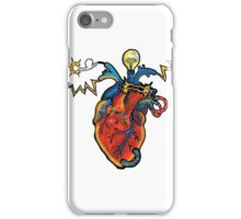 SHOCKING! The Electric Heart - REVISITED iPhone Case/Skin