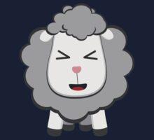 Happy Kawaii Sheep One Piece - Short Sleeve