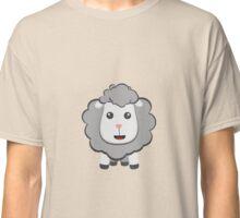 Big eyed kawaii sheep Classic T-Shirt