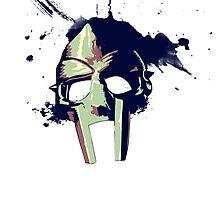MF DOOM mask by Jonald
