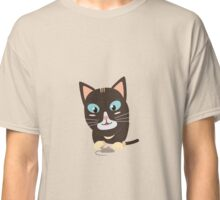 Cat with toy mouse   Classic T-Shirt