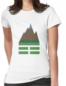 CHING: Gen, The Mountain Womens Fitted T-Shirt