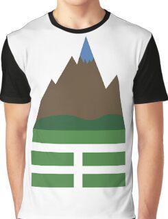 CHING: Gen, The Mountain Graphic T-Shirt
