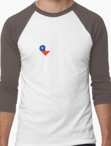 I Love My Hot Chilean Husband Men's Baseball ¾ T-Shirt