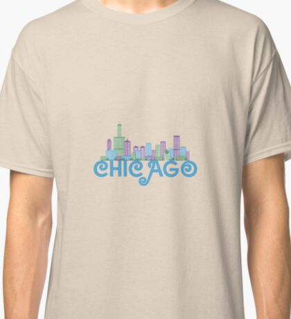 Chicago Skyline Classic T-Shirt