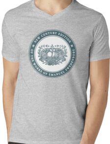 NCE logo green Mens V-Neck T-Shirt