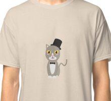 Gentleman cylinder cat   Classic T-Shirt