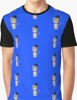 Gentleman cylinder cat   Graphic T-Shirt