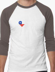 I Love My Chilean Parents Men's Baseball ¾ T-Shirt
