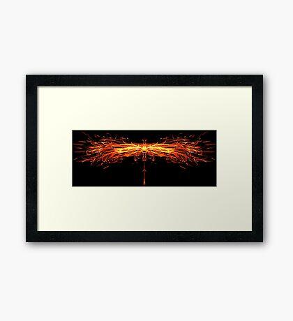 The Phoenix Framed Print