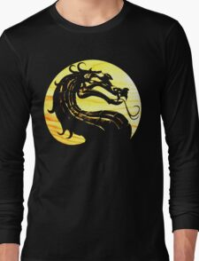 Mortal Kombat Dragon Long Sleeve T-Shirt