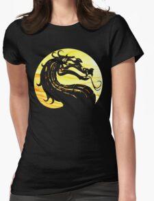 Mortal Kombat Dragon Womens Fitted T-Shirt