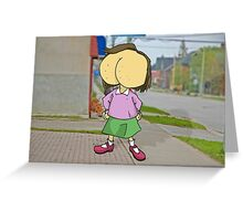 Bumface  Greeting Card