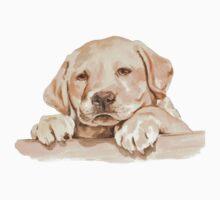 Golden Labrador Puppy  Kids Tee