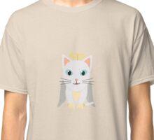Cat Christmas Angel   Classic T-Shirt