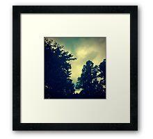 Summer Storm Framed Print
