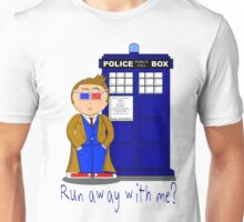 Run Away With Me? Doctor Who Unisex T-Shirt