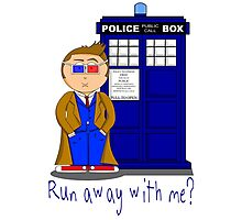 Run Away With Me? Doctor Who Photographic Print