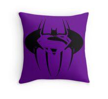 Super Spider Bat  Throw Pillow