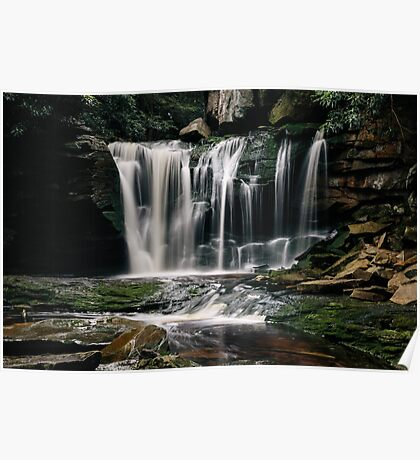 Elakala Falls - West Virginia  Poster