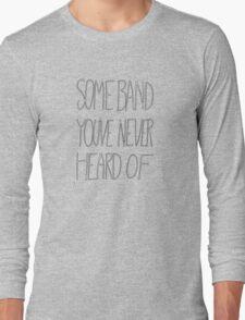 Generic HIPSTER T-shirt Long Sleeve T-Shirt