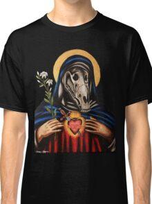 Virgin Mary Horse Skull Classic T-Shirt