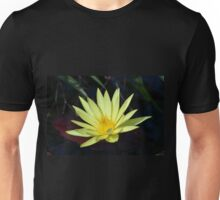 Large Yellow Water Lily Unisex T-Shirt