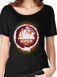 Acapulco Sunset Women's Relaxed Fit T-Shirt