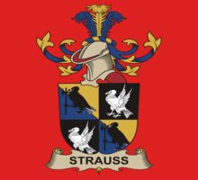 Strauss Coat of Arms (Austrian) Kids Clothes